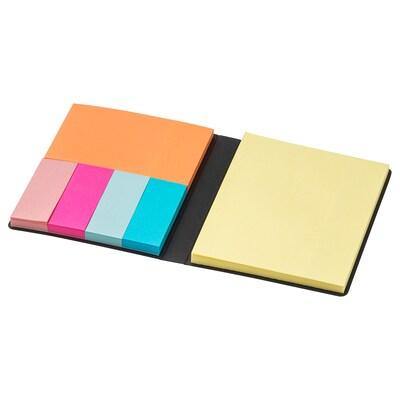 FULLFÖLJA folder with sticky notes 8.5 cm 10.5 cm