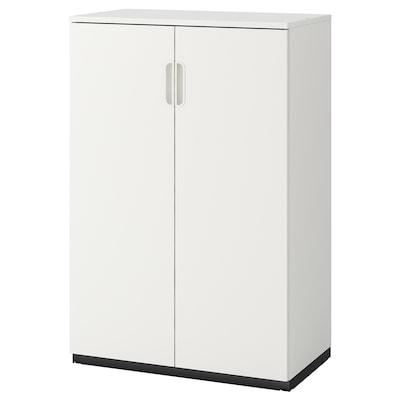 GALANT Cabinet with doors, white, 80x120 cm