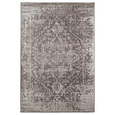 GERLEV Rug, low pile, patterned/grey, 170x230 cm