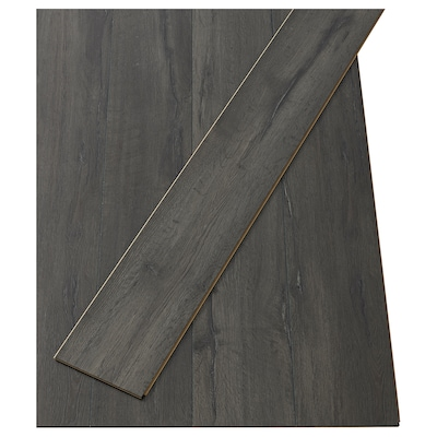 GOLV Laminated flooring, black sandstone effect, 2.00 m²