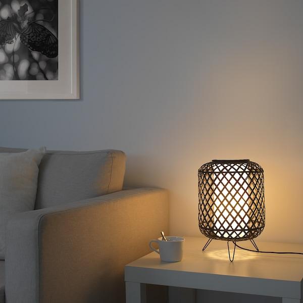 GOTTORP Table lamp, black, 24x34 cm