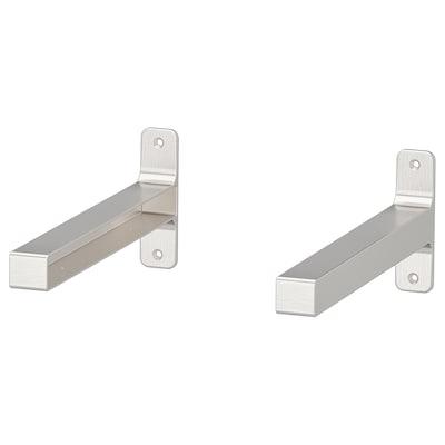 GRANHULT bracket nickel-plated 30 cm 12 cm 2 pack