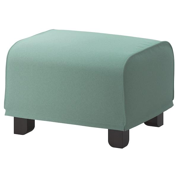 GRÖNLID footstool Ljungen light green 57 cm 47 cm 38 cm