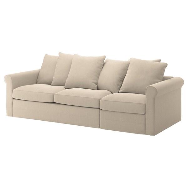 Gronlid 3 Seat Sofa Bed Sporda Natural Ikea