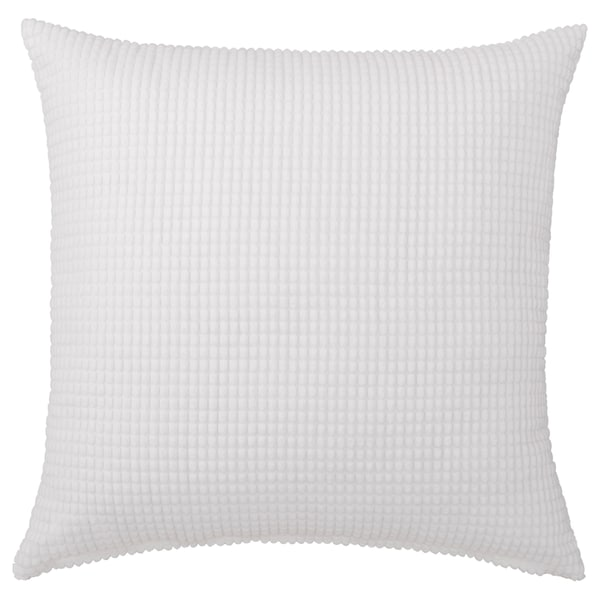 GULLKLOCKA Cushion cover, white, 50x50 cm