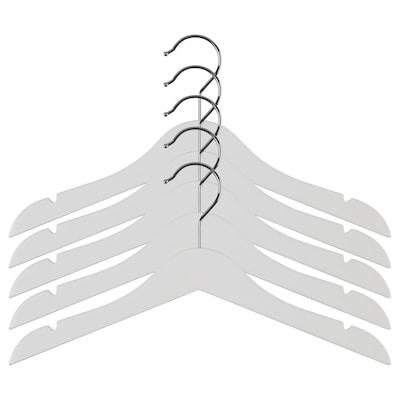 HÄNGA Children's coat-hanger, white