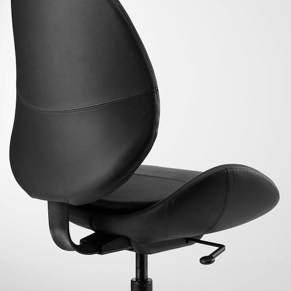 HATTEFJÄLL office chair Smidig black 110 kg 68 cm 68 cm 110 cm 50 cm 40 cm 41 cm 52 cm