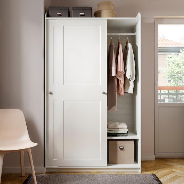 HAUGA Shelf, white, 56 cm