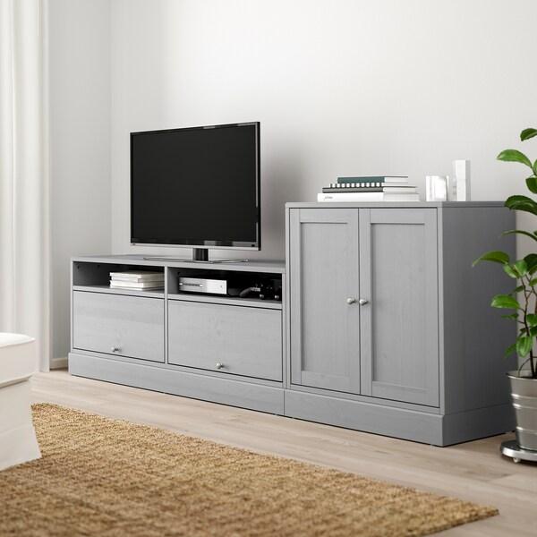 Ikea Tv Kast Grijs.Havsta Tv Storage Combination Grey Ikea