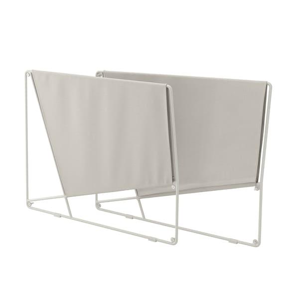 HAVSTEN armrest section, outdoor beige 9 cm 92 cm 75 cm 2 pack