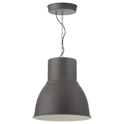 HEKTAR pendant lamp dark grey 53 W 165 cm 47 cm 47 cm 112 cm