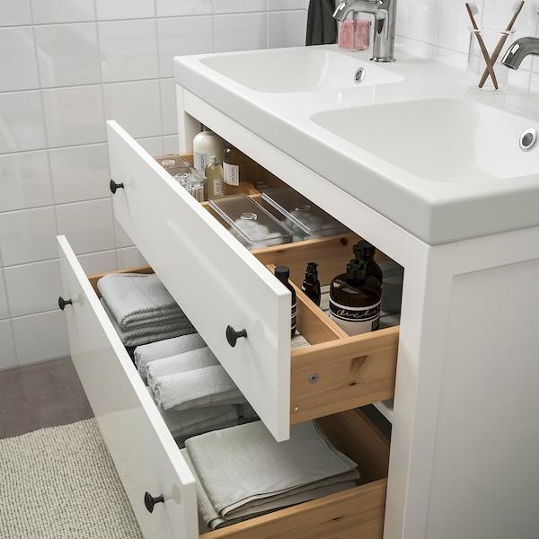 HEMNES / ODENSVIK bathroom furniture, set of 5 white/Voxnan tap 103 cm 100 cm 49 cm 89 cm