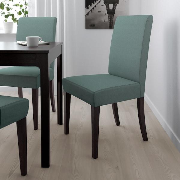 Henriksdal Chair Dark Brown Finnsta
