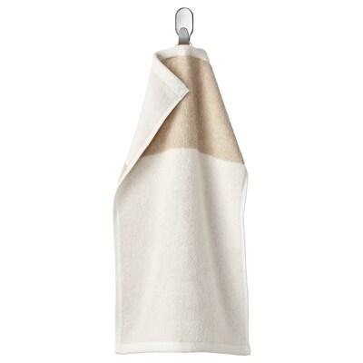 HIMLEÅN Guest towel, beige/mélange, 30x50 cm