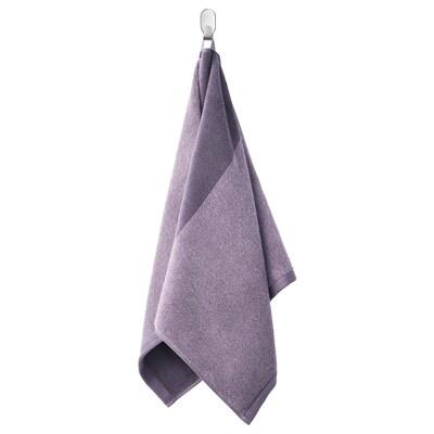 HIMLEÅN Hand towel, lilac/mélange, 50x100 cm