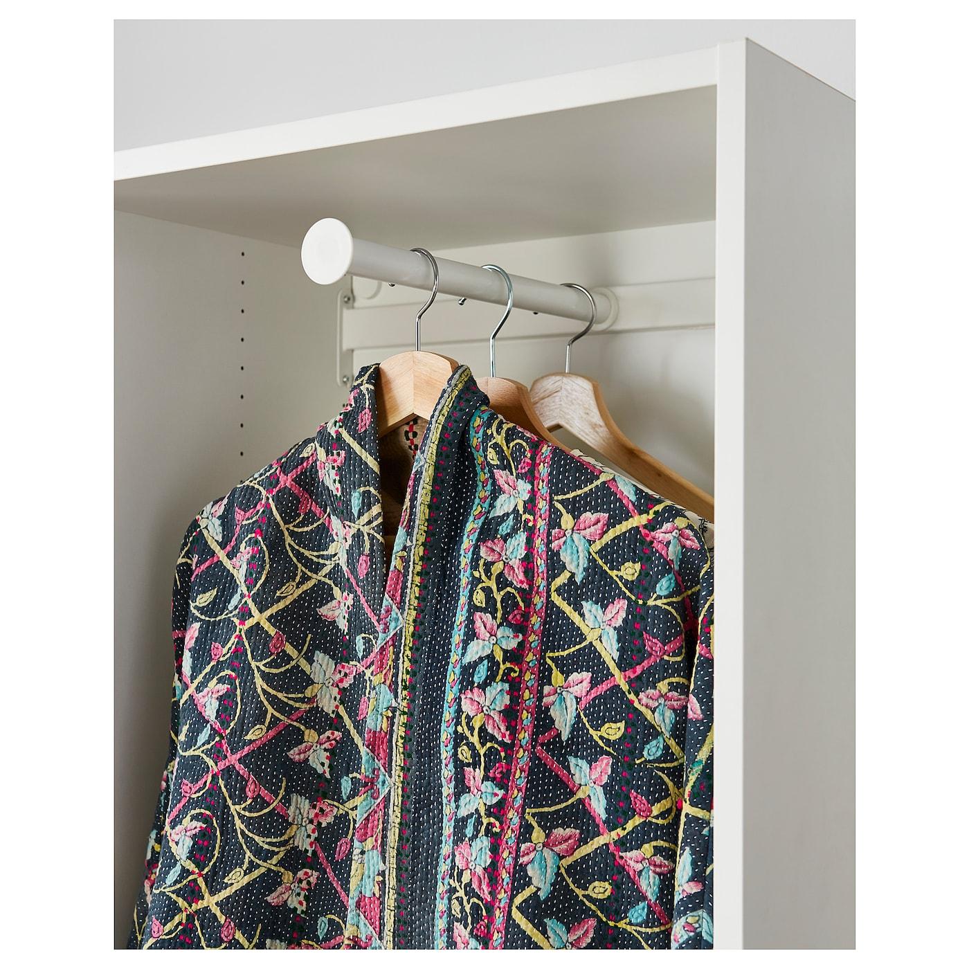 HJÄLPA pull-out clothes rail white 76.3 cm 80 cm 35.5 cm 51.3 cm 40 cm