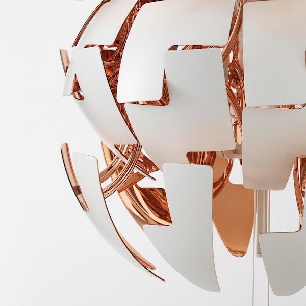 IKEA PS 2014 Pendant lamp, white/copper-colour, 52 cm