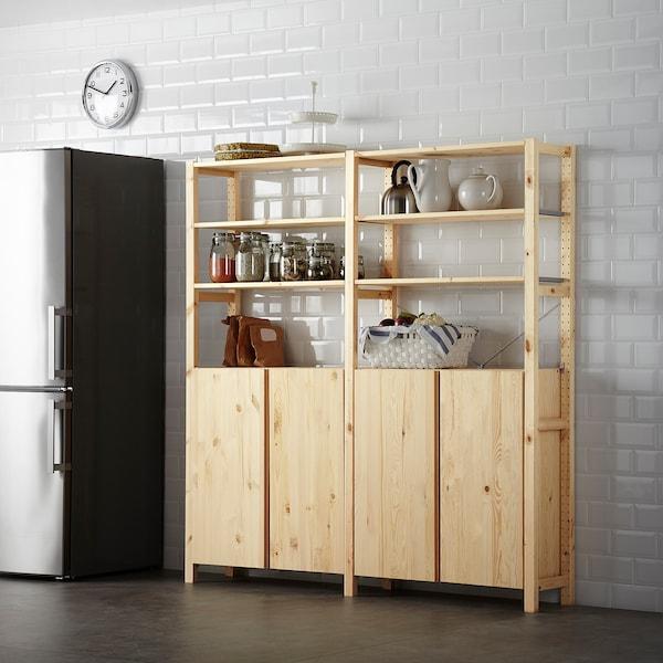 Ikea Tv Meubel Grenen.Ivar Cabinet Pine Ikea