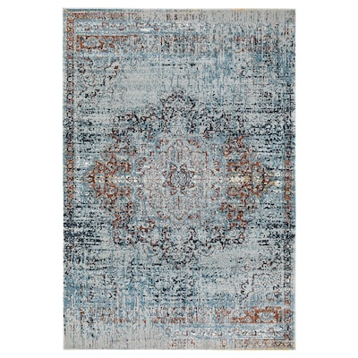 JEJSING Rug, low pile, multicolour, 133x195 cm