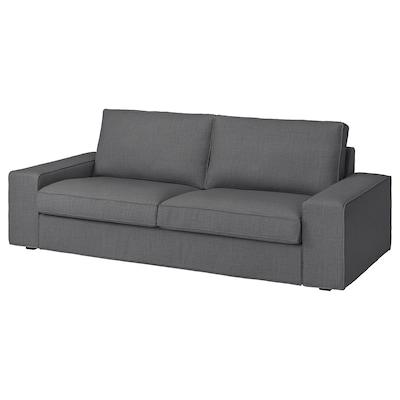 KIVIK 3-seat sofa Skiftebo dark grey
