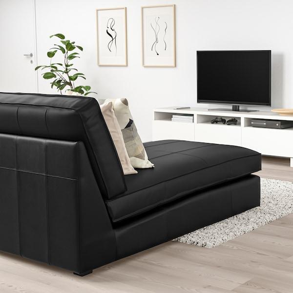 KIVIK Chaise longue, Grann/Bomstad black