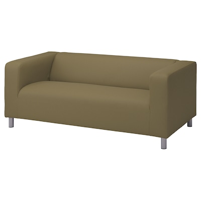 KLIPPAN 2-seat sofa, Vissle yellow-green