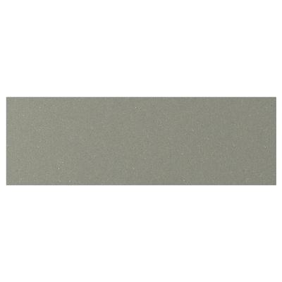 KLUBBUKT Drawer front, grey-green, 60x20 cm