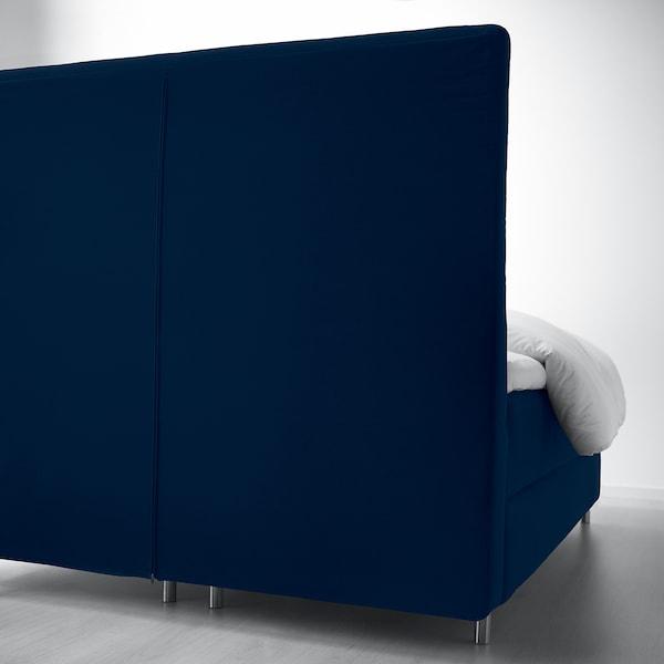 KONGSFJORD divan bed Vatneström firm/Tistedal Djuparp dark green-blue 217 cm 180 cm 139 cm 200 cm 180 cm
