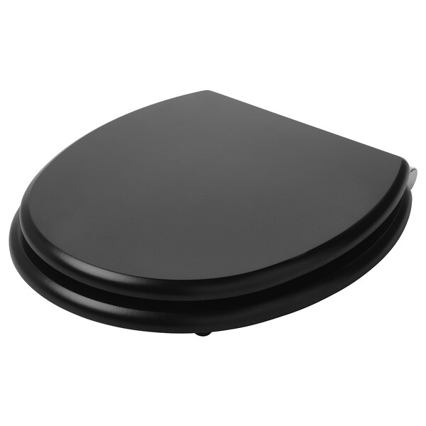 KULLARNA toilet seat black 37 cm 40 cm