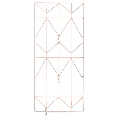 KVICKSUND Memo board, light pink, 39x86 cm