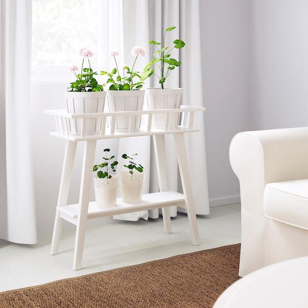 Riverdale Bijzettafeltje Wit.Lantliv Plant Stand White Ikea