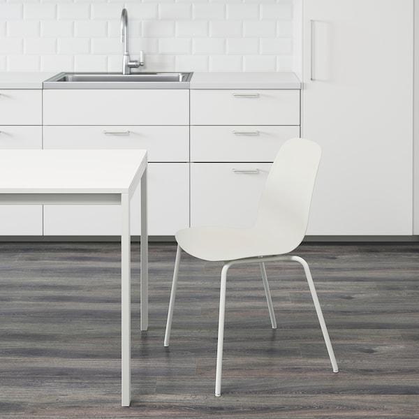 LEIFARNE Chair, white/Broringe white