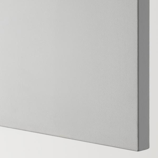 LERHYTTAN Cover panel, light grey, 62x220 cm
