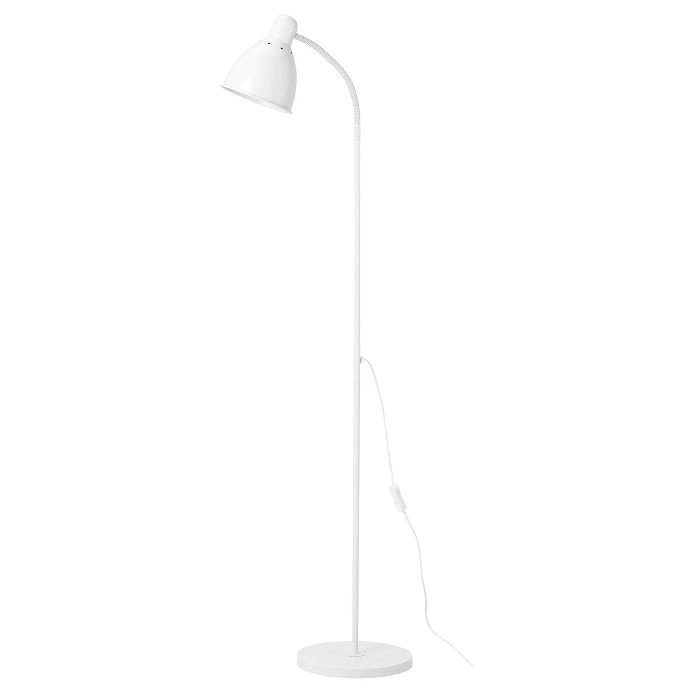 Lersta Floor Reading Lamp White Ikea