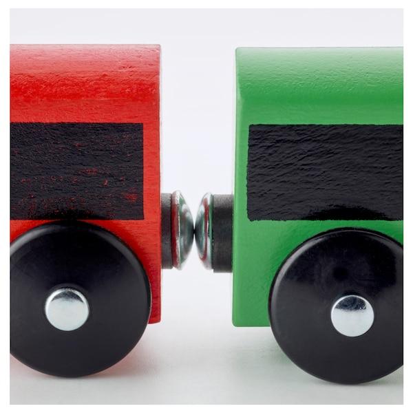 LILLABO 20-piece basic train set, multicolour