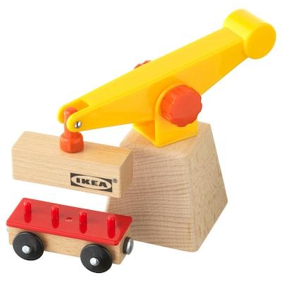 LILLABO 3-piece crane and wagon set