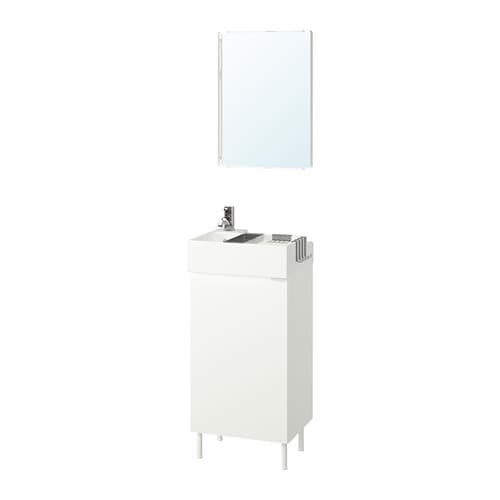 Lillången Lillången Bathroom Furniture Set Of 5 White Pilkån Tap