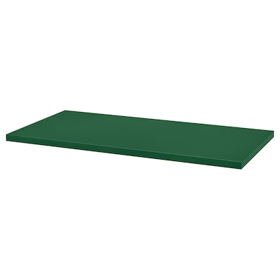 LINNMON table top green 120 cm 60 cm 3.4 cm 50 kg