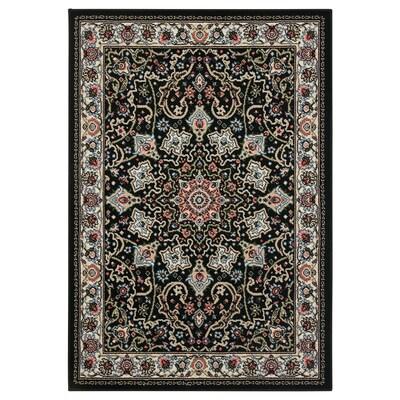 LJÖRRING Rug, low pile, multicolour, 70x100 cm