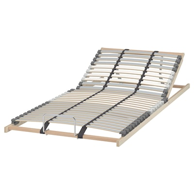 LÖNSET Slatted bed base, adjustable, 90x200 cm