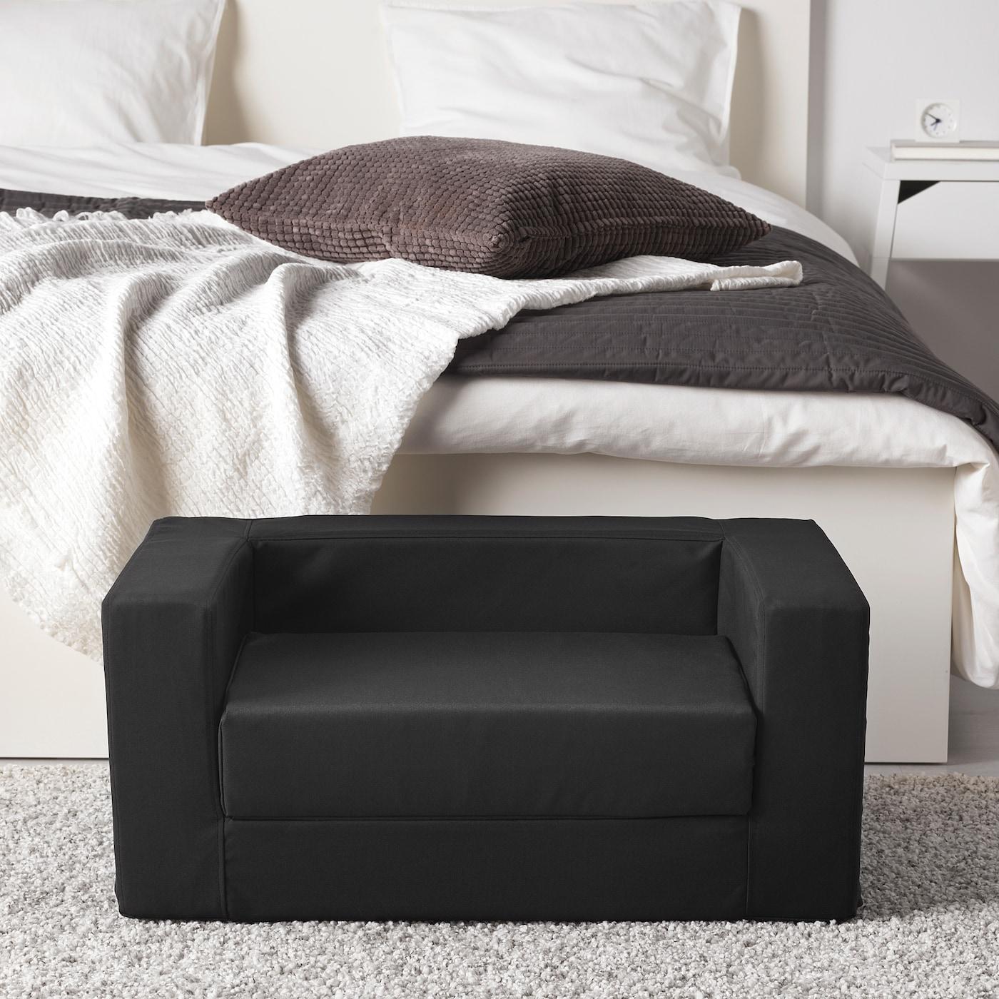 LURVIG Cat/dog bed, black, 68x70 cm
