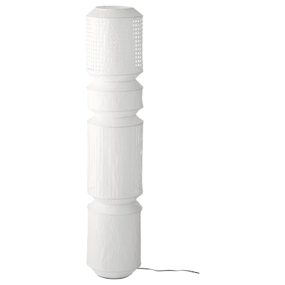 MAJORNA floor lamp white 13 W 140 cm 29 cm 2.6 m