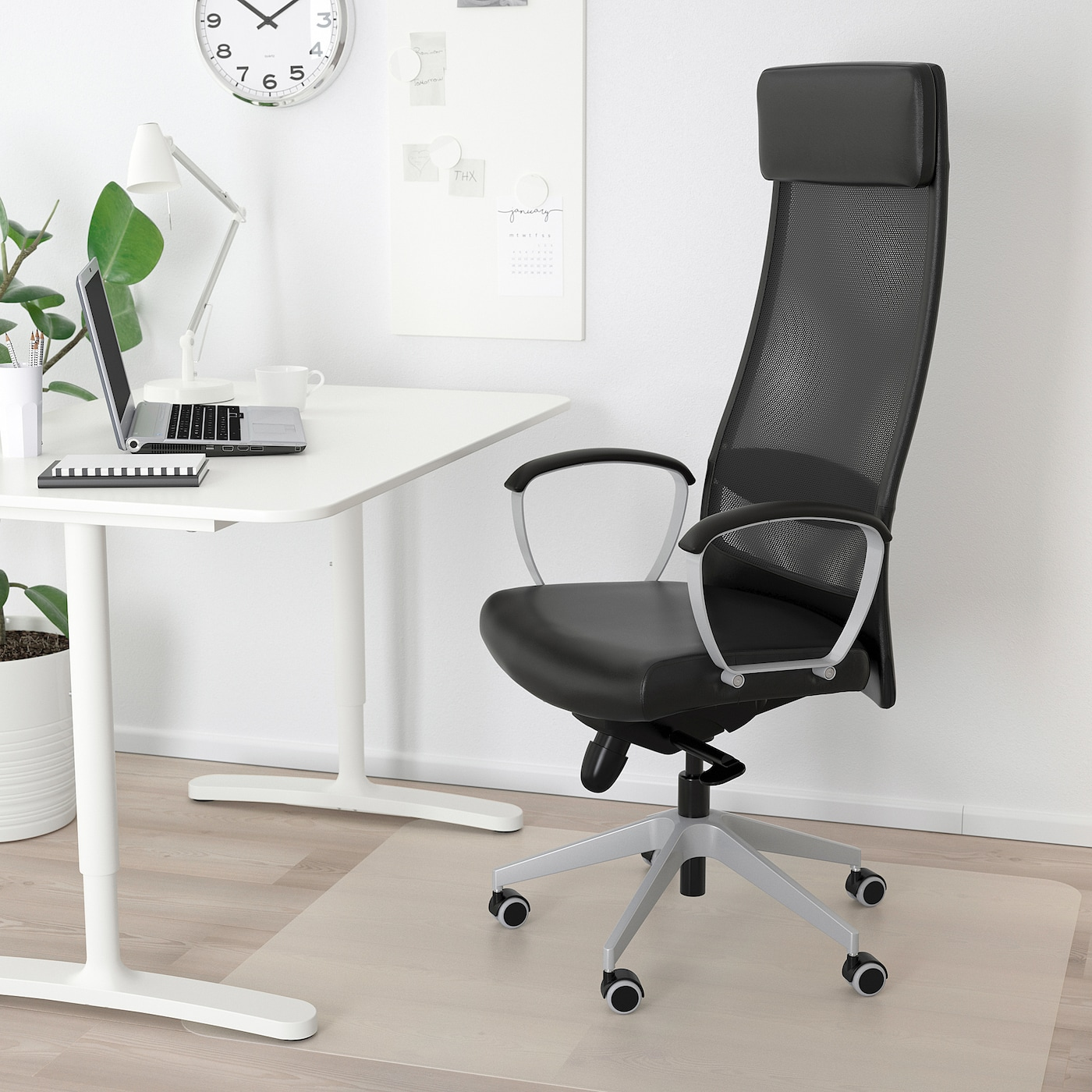Markus Office Chair Black Glose
