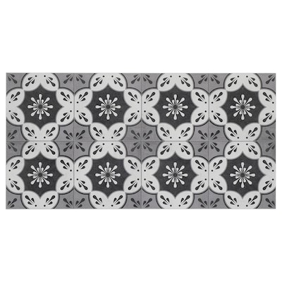 MARKYTA Floor/wall tile, flowers and leaves, 1.97 m²