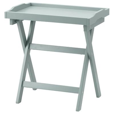 MARYD Tray table, green, 58x38x58 cm