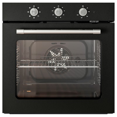 MATTRADITION Forced air oven, black