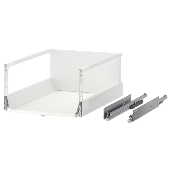 MAXIMERA Drawer, high, white, 40x60 cm