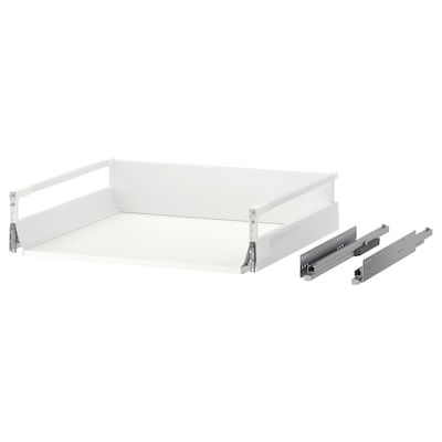 MAXIMERA Drawer, medium, white, 60x60 cm