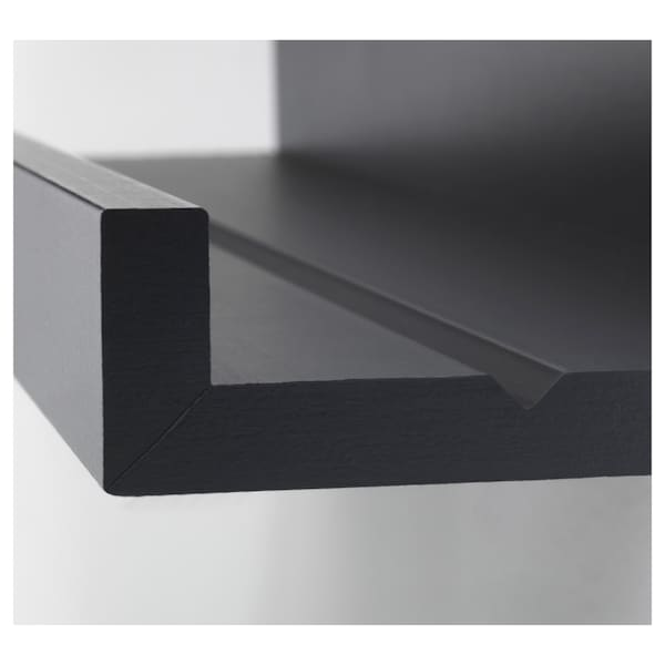 MOSSLANDA picture ledge black 55 cm 12 cm 5.00 kg