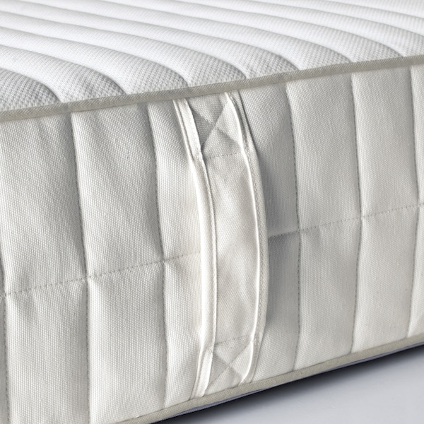 MYRBACKA Memory foam mattress, firm/white, 80x200 cm